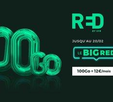Forfait mobile : RED by SFR frappe très fort avec une offre 100 Go à 12 €/mois !