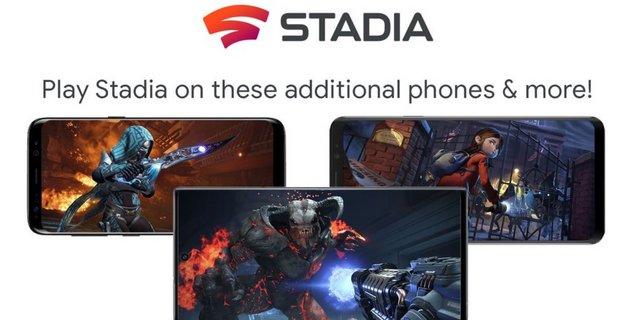 Stadia enfin compatible avec d'autres smartphones Android que les Pixel