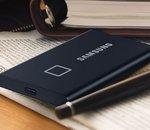 Test Samsung T7 Touch : un « doigt » de sécurité pour un SSD externe au top