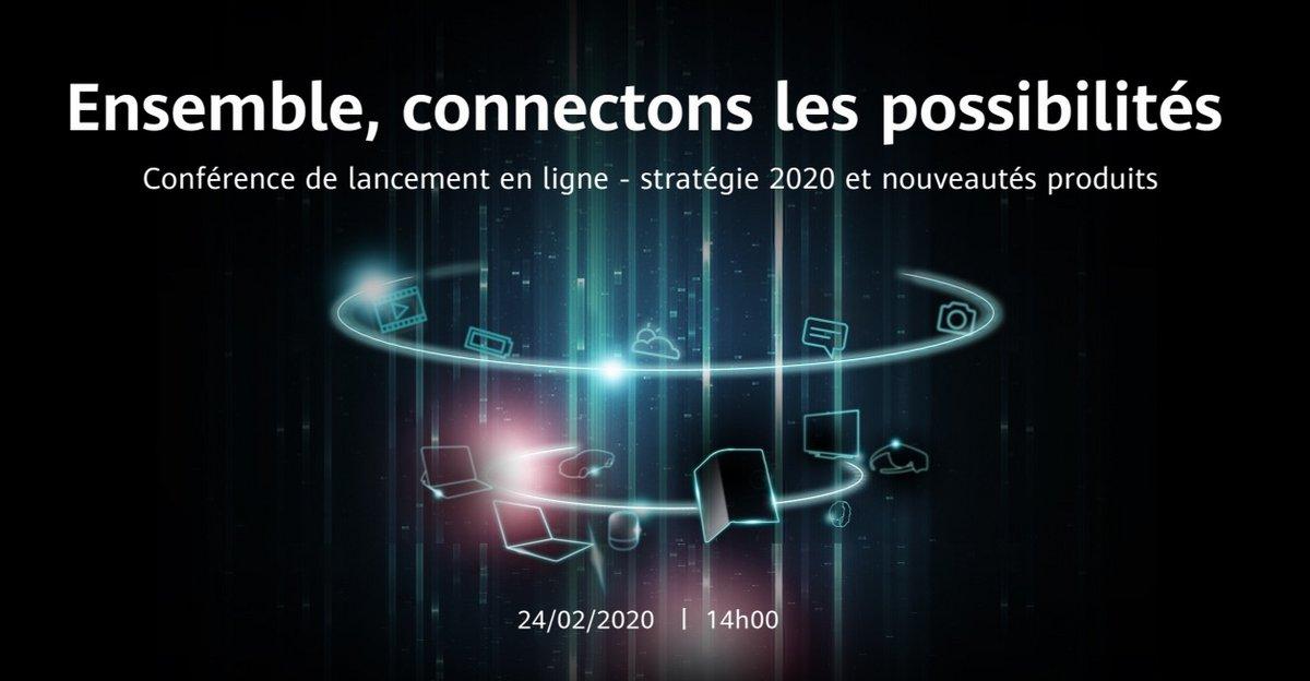 Huawei événement 24/02