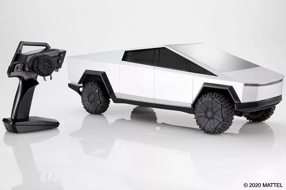 Tesla Cybertruck Mattel