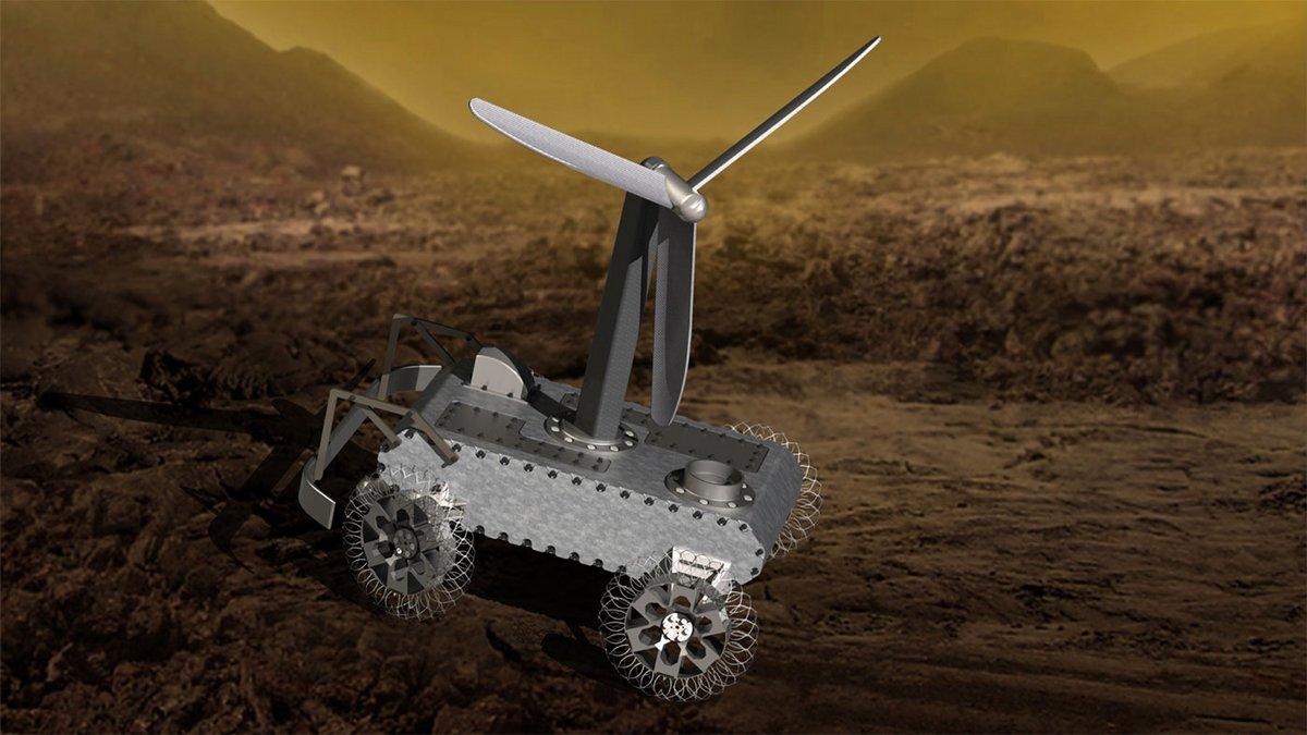 NASA Rover Venus concept