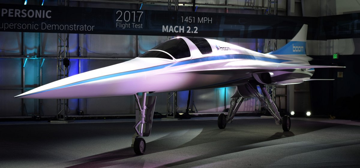 XB-1 Boom 2017