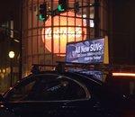 Uber va tester la pub sur le toit de certains véhicules aux États-Unis