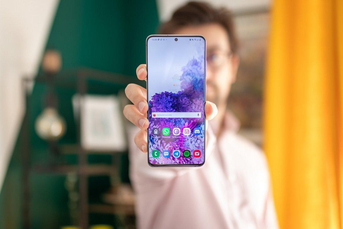 Samsung Galaxy S20 Ultra test