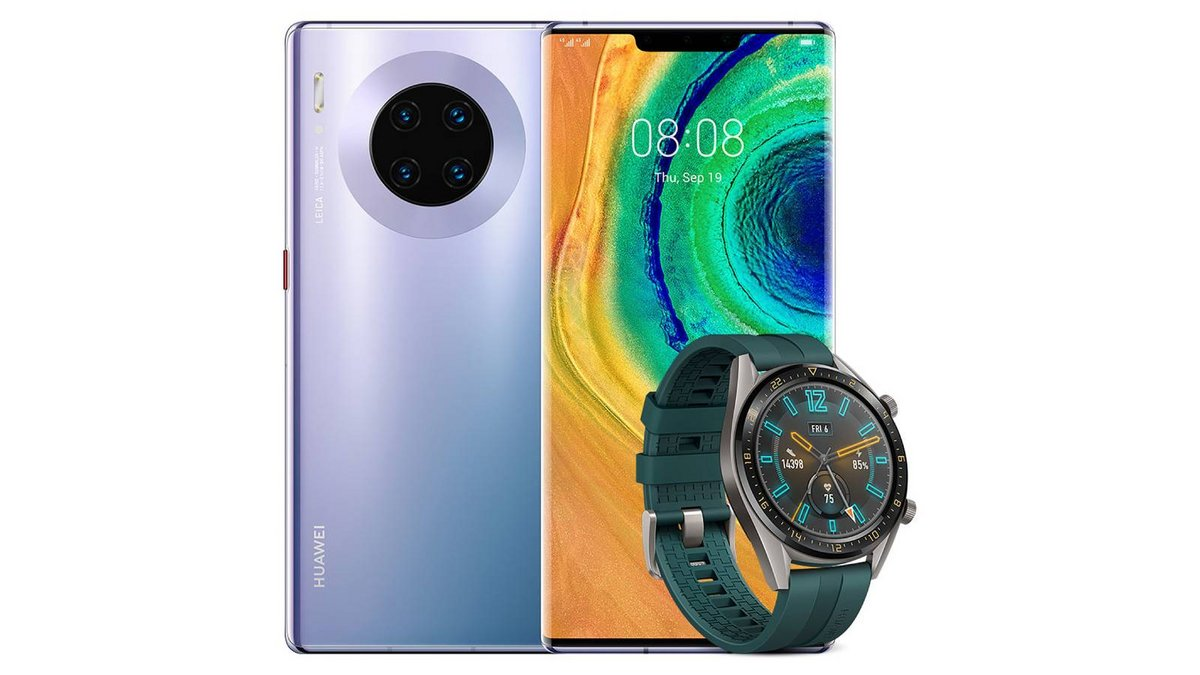 Huawei Mate 30 Pro avec Watch GT.jpg