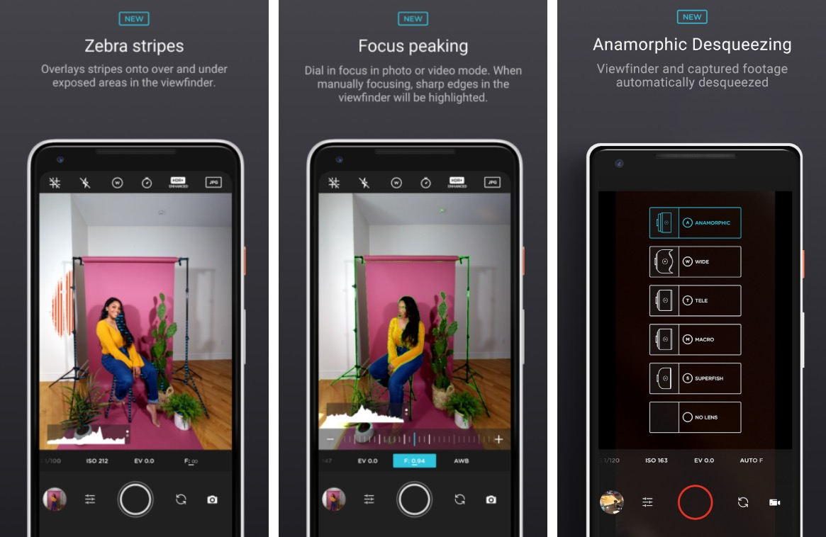 Moment Android app