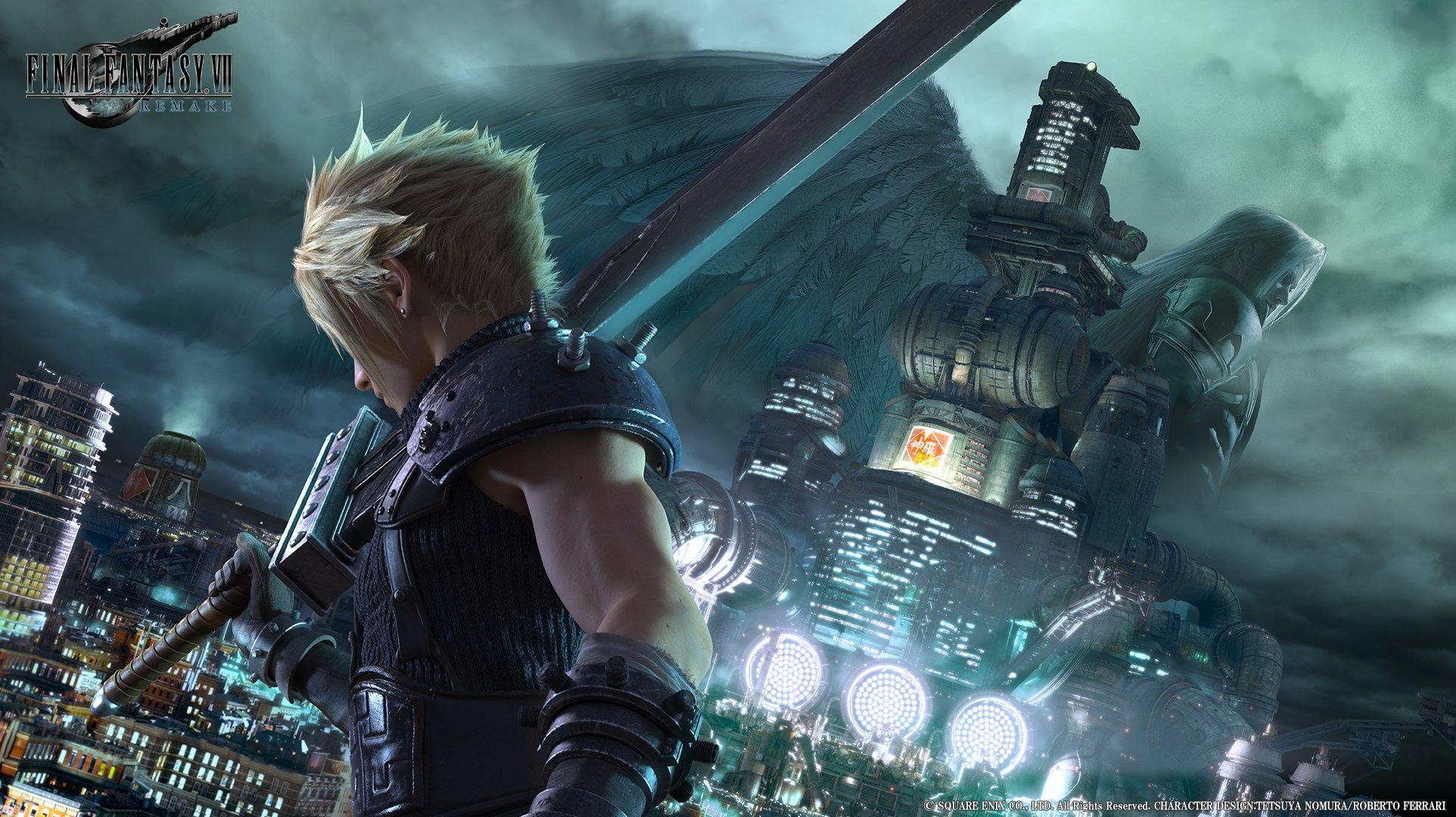 Arrêtez tout ! La démo de Final Fantasy VII Remake est disponible sur PS4 !