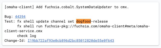 Google FuchsiaOS code