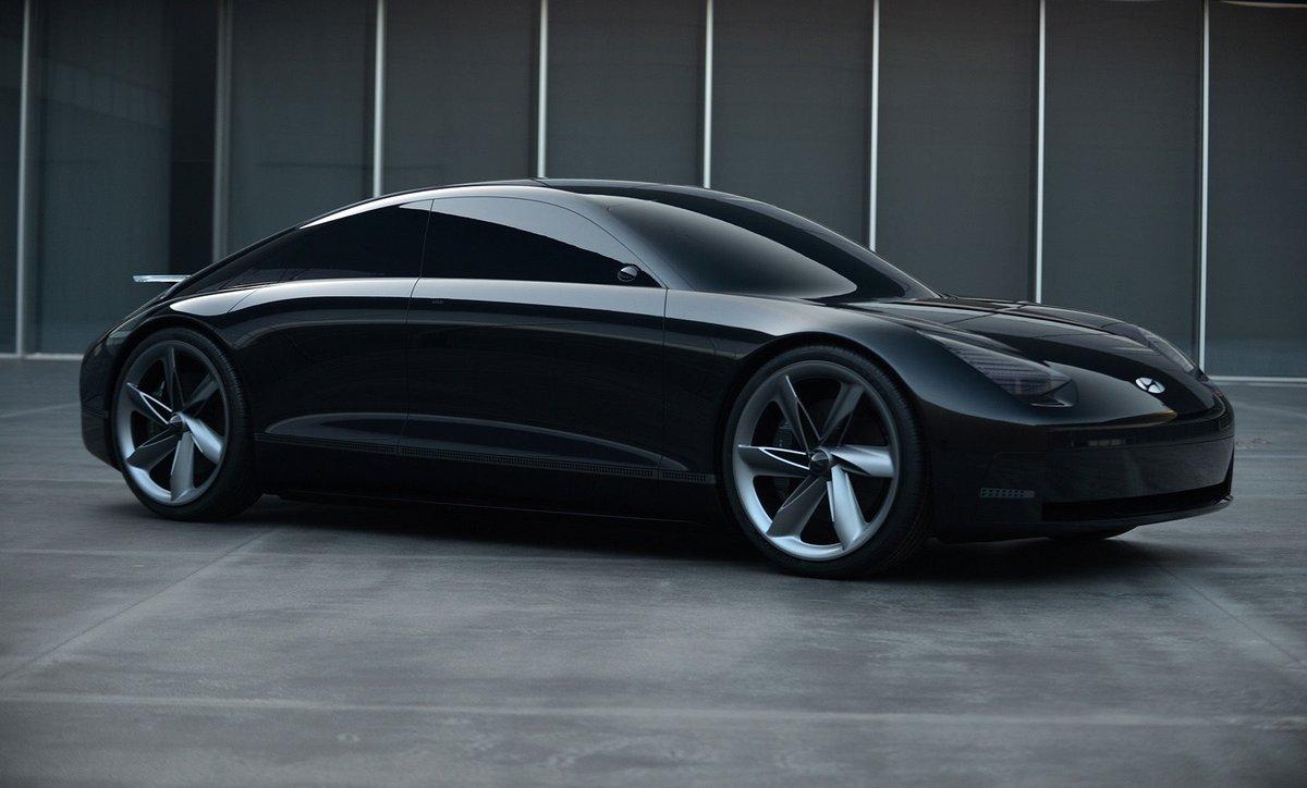 Hyundai Prophecy concept car électrique © Hyundai