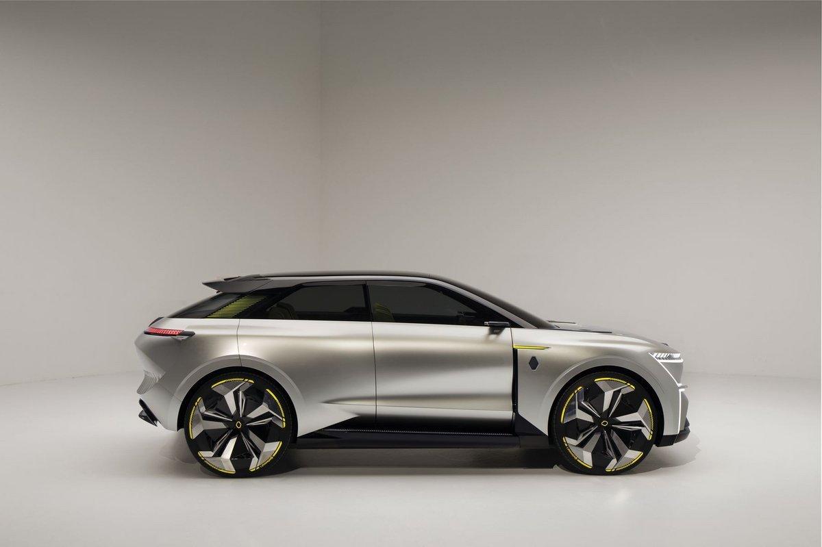 Renault concept-car électrique Morphoz