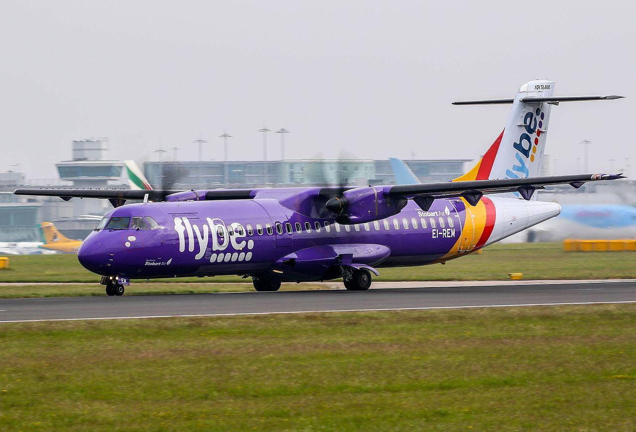 Gravement touchée par l'épidémie de coronavirus, la compagnie aérienne Flybe met la clé sous la porte