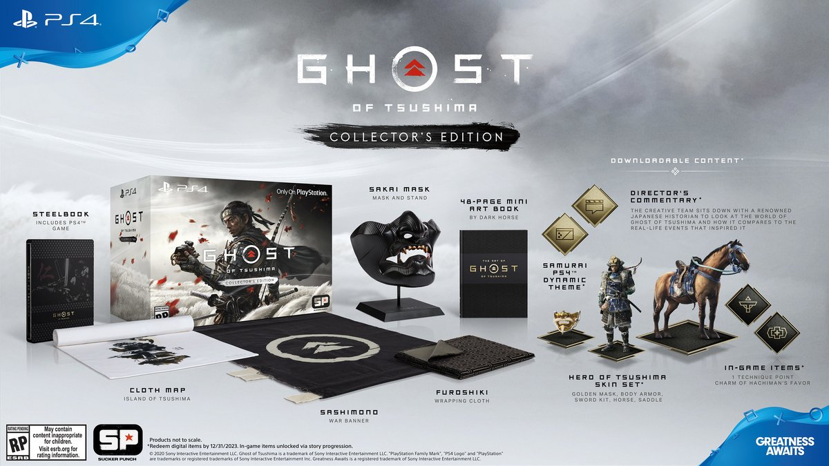 Ghost of Tsushima Collector