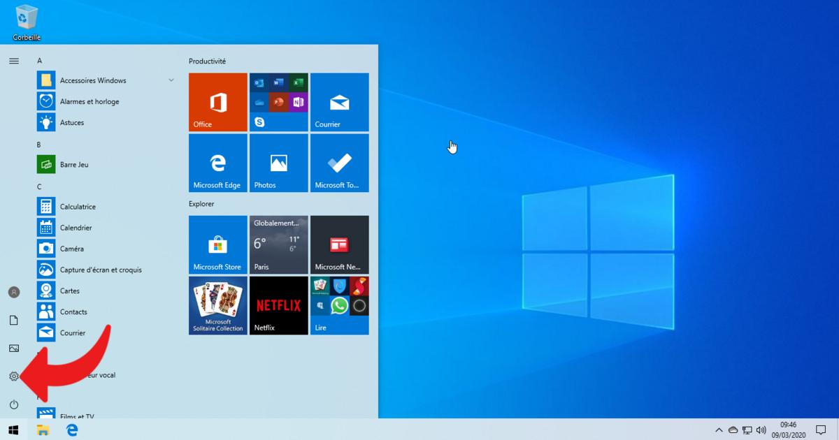 Paramètres Windows 10 © clubic.com