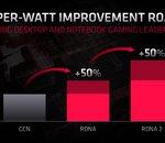AMD RDNA 2 : vers un gain de performances de près de 50% par Watt