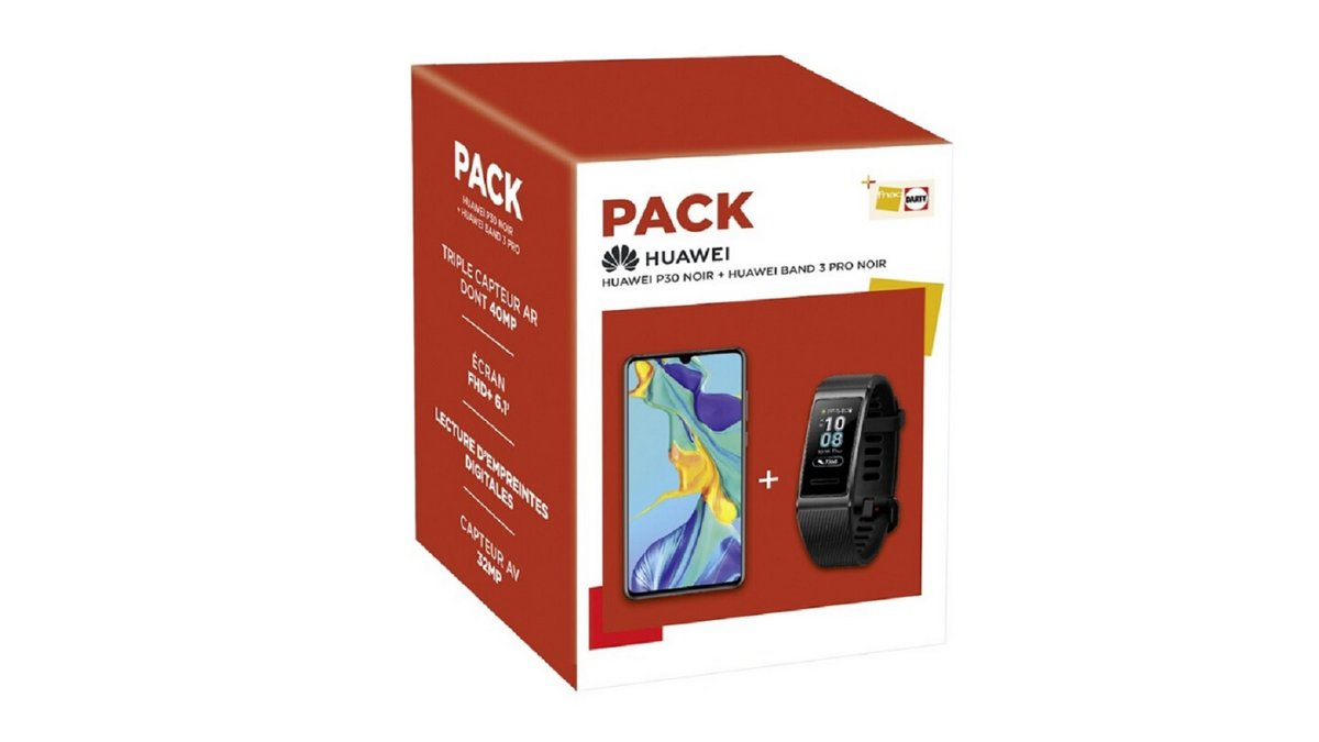 Pack Huawei P30 Darty