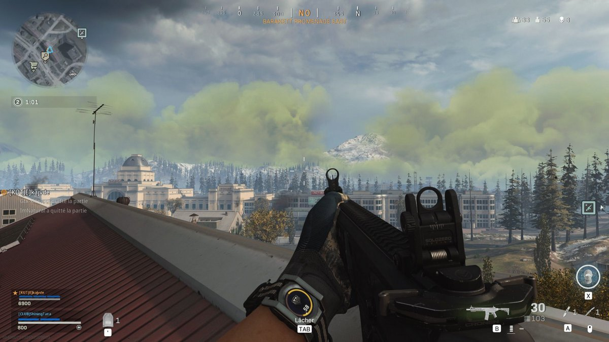 Call of Duty Warzone test