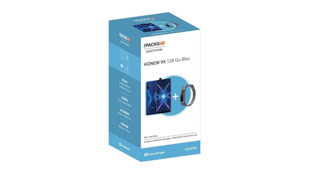 Smartphone Honor Pack 9X Bleu Band 5 Sport.jpg