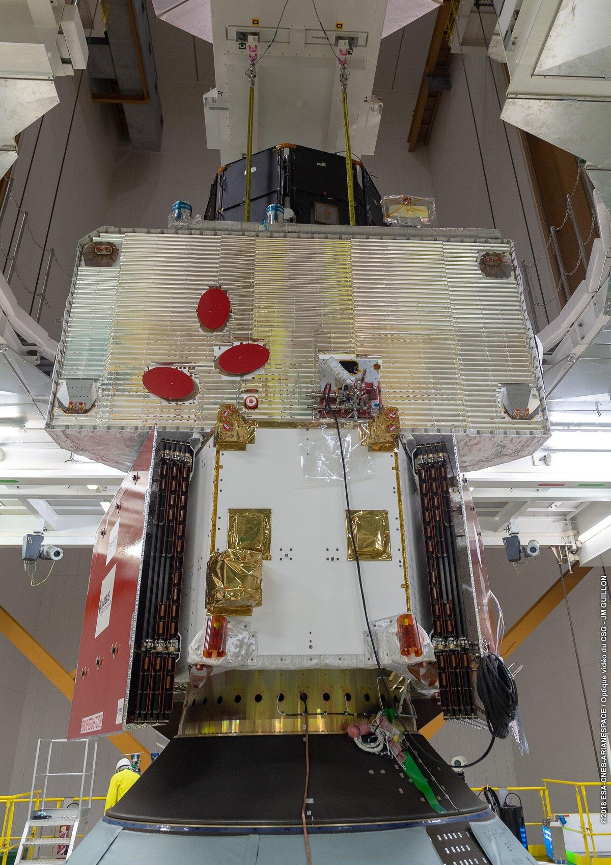 Bepicolombo 2 © ESA/CNES/Arianespace/Optique video du CSG – JM Guillon