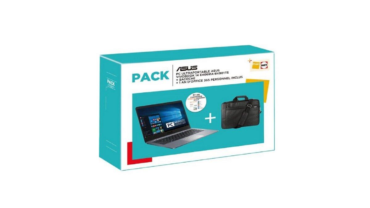 Pack ordinateur portable Asus