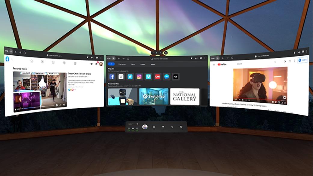 Oculus Quest nouvelle interface