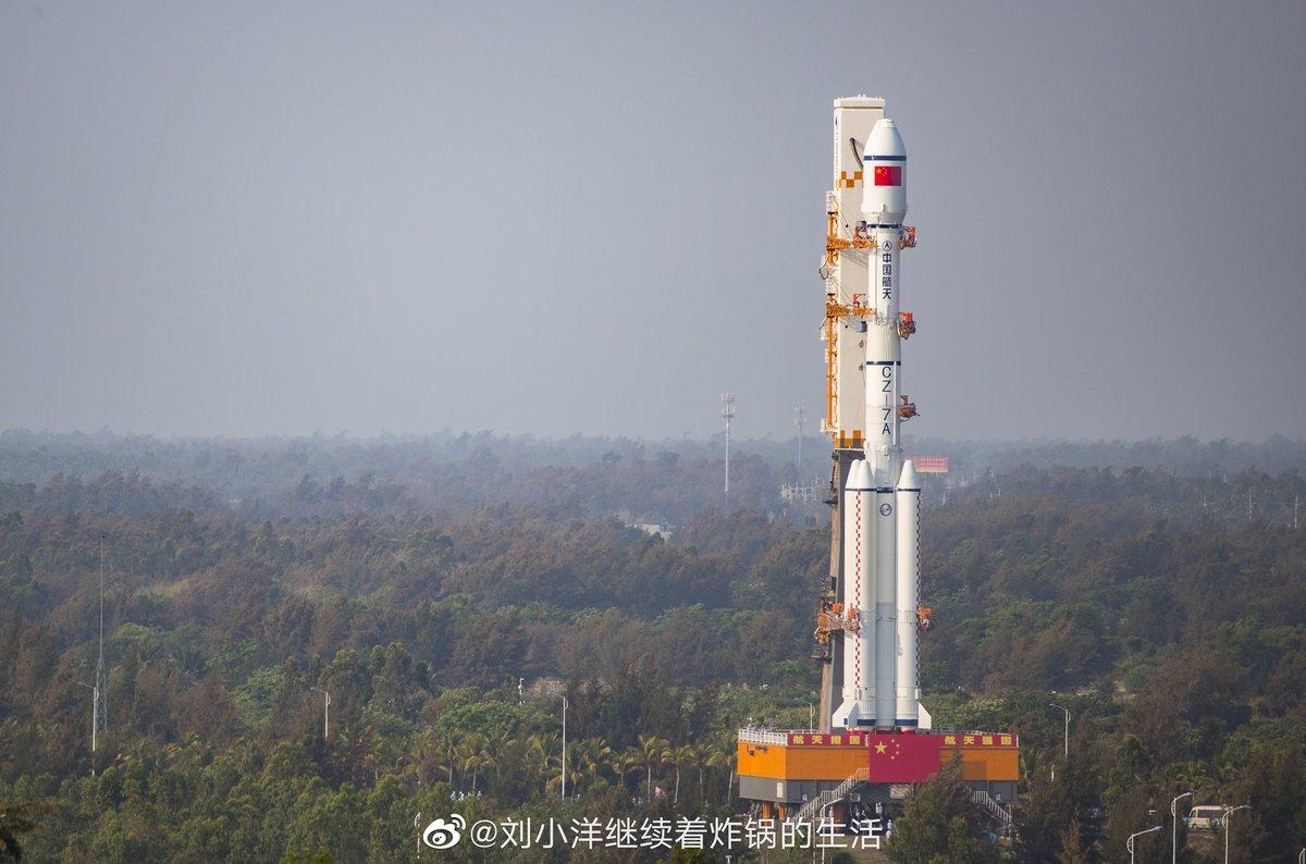 CZ-7A lancement