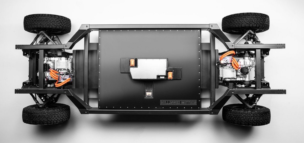 Bollinger chassis plateforme
