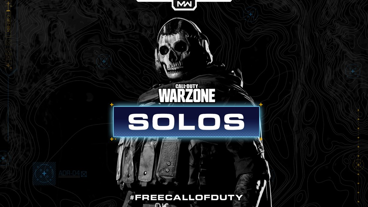 Call of Duty Warzone solo