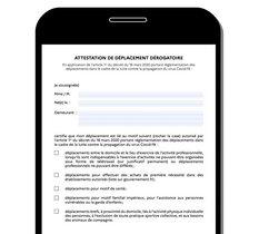 Comment fonctionne la nouvelle attestation de déplacement sur smartphone ?