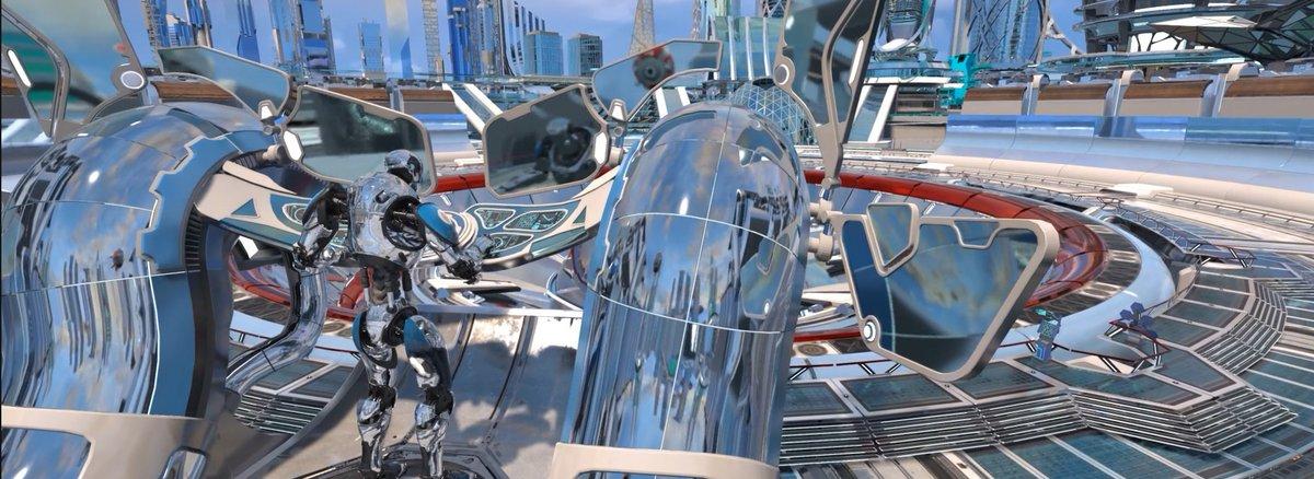 Futuristic City - AMD Demo