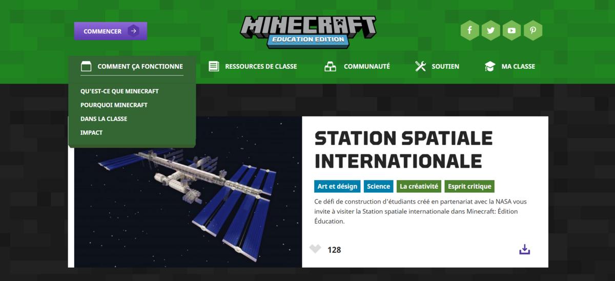 Minecraft ISS