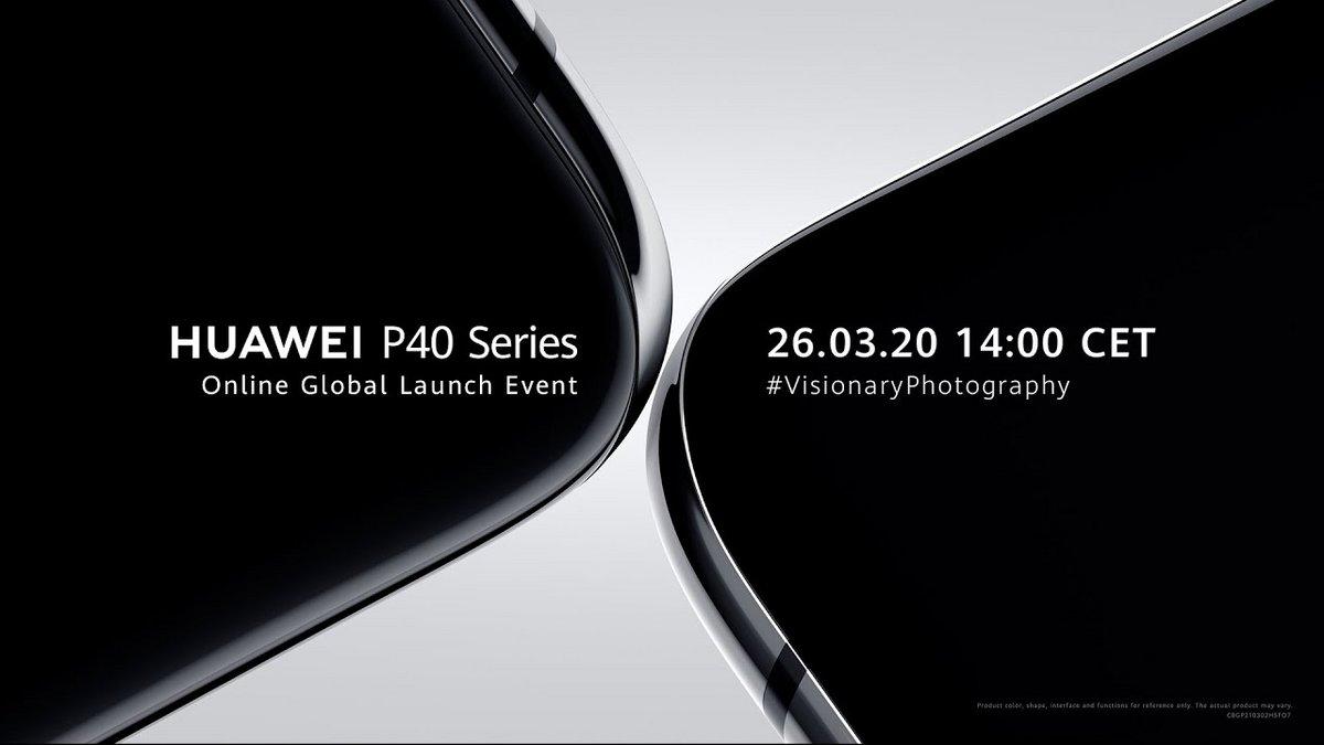 Huawei P40 conférence