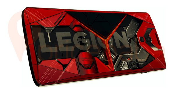 Le smartphone gamer Lenovo Legion fuite en photos