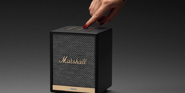 Marshall Uxbridge : une mini-enceinte connectée au design rock