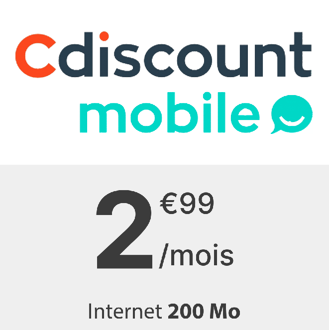 Forfait Cdiscount 200 Mo