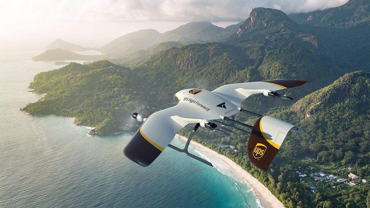 UPS drone livraison