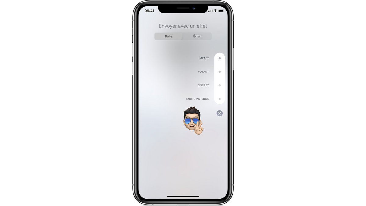 tuto animations iMessages iPhone