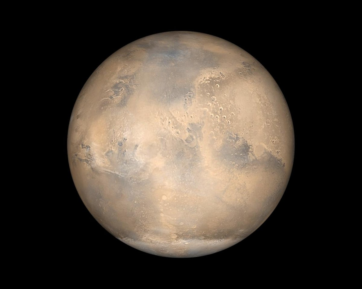 Mars global surveyor © NASA/JPL/MSSS