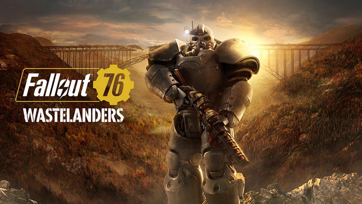 Fallout 76 Wastelanders art