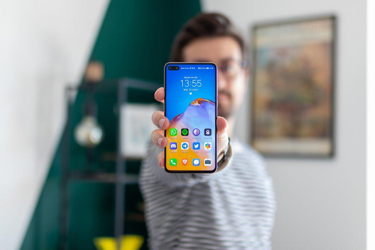 Huawei P40 test