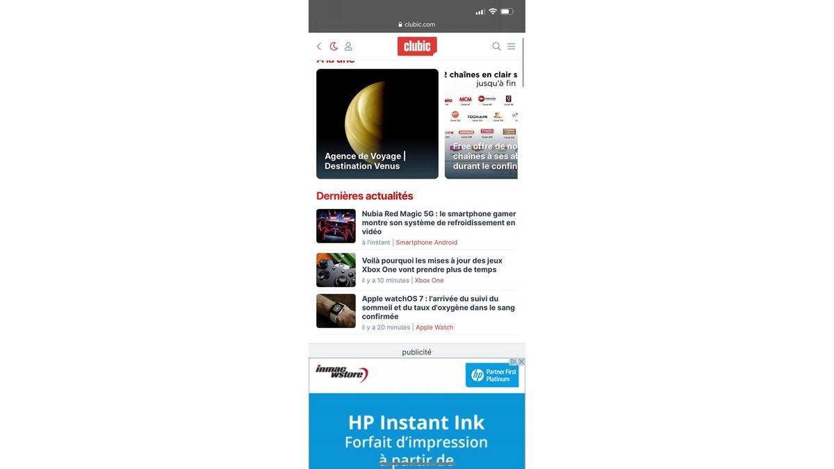 Comment ajouter un raccourci web sur la page d'accueil de son iPhone ?