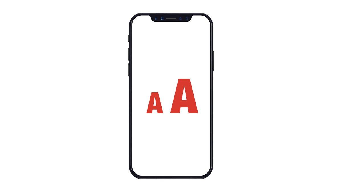 Comment augmenter la taille de la police de son iPhone ?