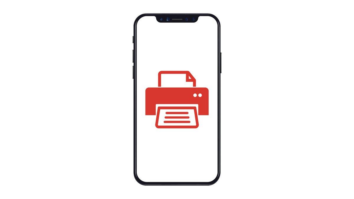 Comment lancer une impression depuis son iPhone ?