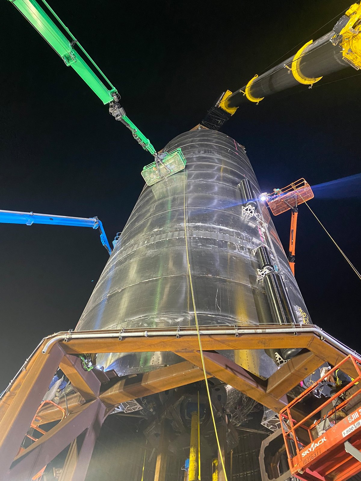 Starship SN3 test