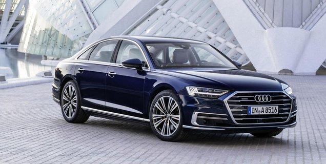 Audi : pas de version 100 % électrique pour la berline premium A8