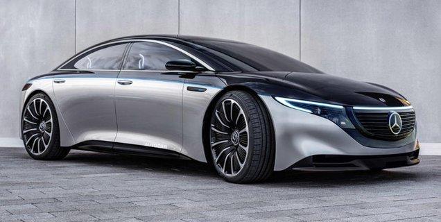 Plus de 700 km d'autonomie annoncés pour la Mercedes EQS