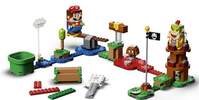 LEGO lance les précommandes du kit interactif Super Mario