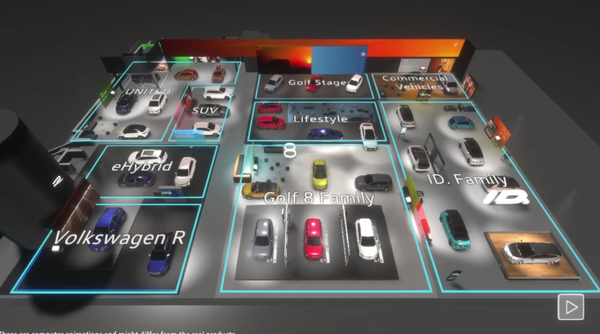 Volkswagen salon virtuel