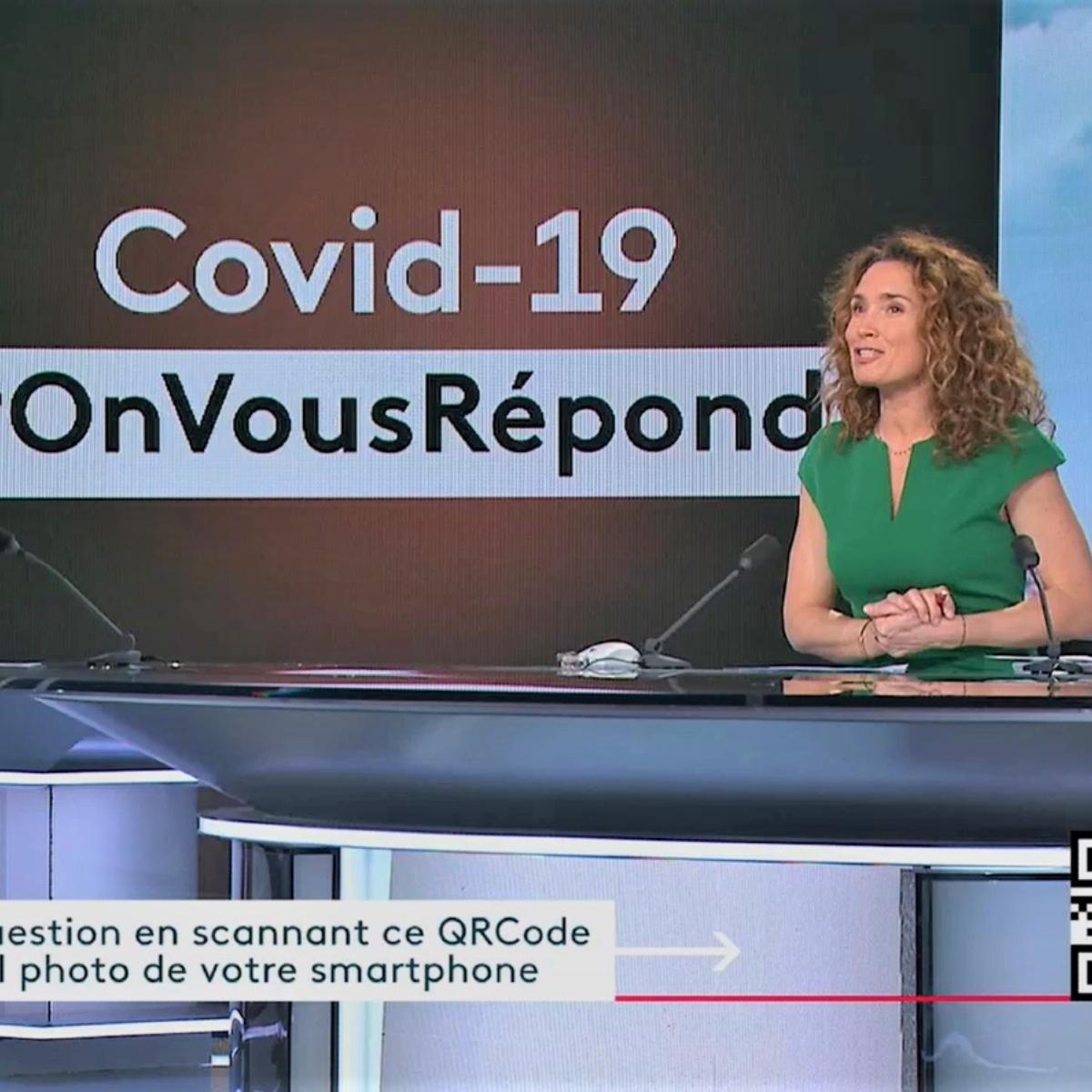 France 2 : un QR code en plein JT pour poser vos questions autour du Covid-19