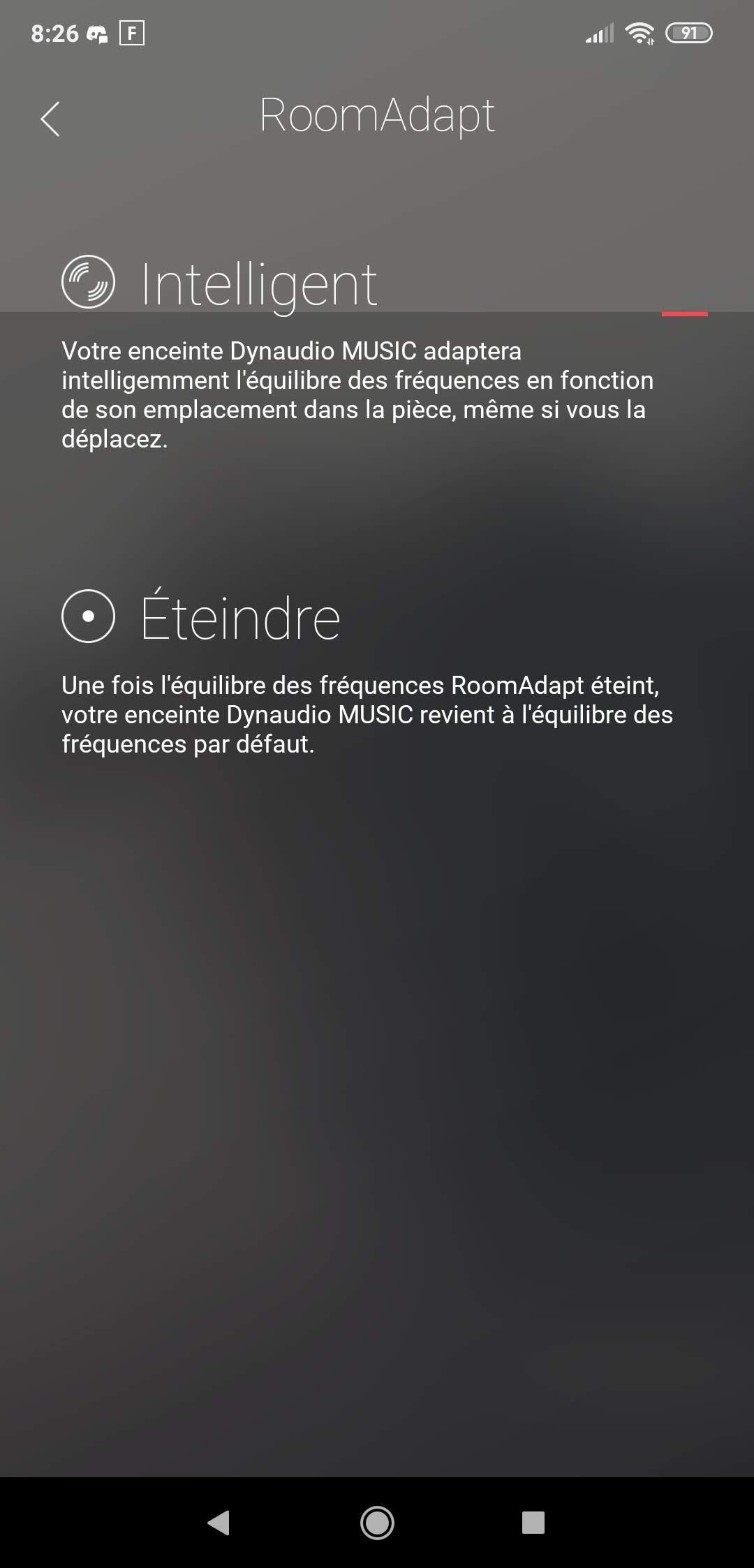 Dynaudio Music 1 - RoomAdapt